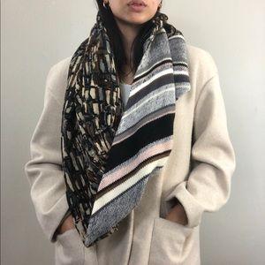 Cynthia Rowley Multi-color Knit Infinity Scarf